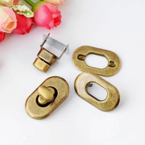 Free Shipping-10 Sets Bronze Tone Trunk Lock Handbag Bag Accessories Purse Snap Clasps/ Closure Locks 37x21mm J2852 https://t.co/fXACKz8mTK