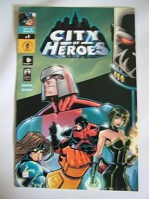 CITY OF HEROES no.1 DAKAN ZOMBO Dark Horse Comics ref109,Please see full description and photo for condition report. Feel free to ask any questions. Thank you., #OtherA-Z