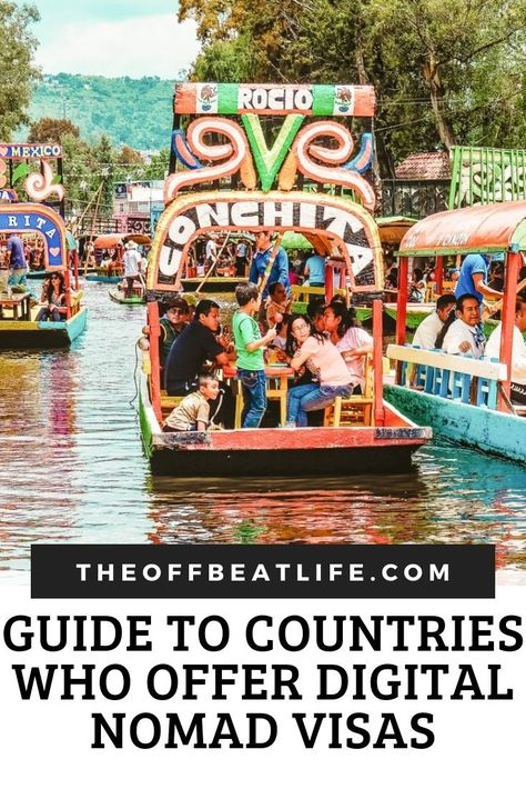Guide to Countries who Offer Digital Nomad Visas