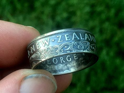 New Zealand Half Crown Ring