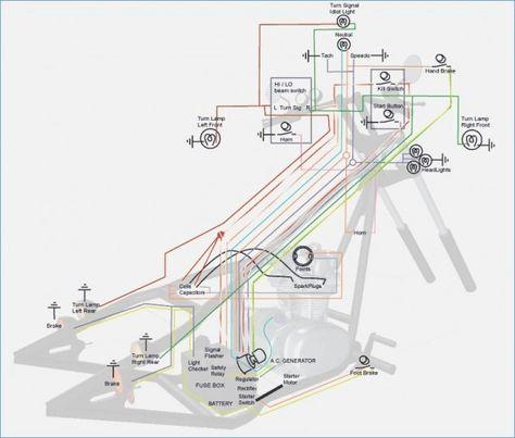 Mini Harley Wiring Diagram Wiring Schematic Diagram