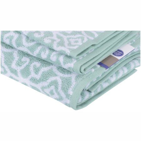 Better Homes And Gardens Thick And Plush Jacquard Bath Collection