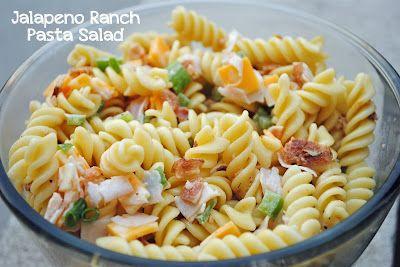 Durfee Family Recipes: Jalapeno Ranch Pasta Salad
