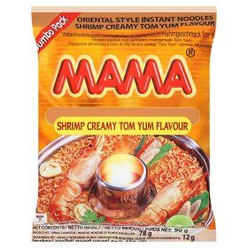 Mama Oriental Style Instant Noodles Shrimp Creamy Tom Yum Flavour Jumbo Pack