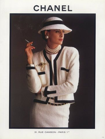 Ines de la Fressange was the face of Chanel for most of the She was featured in countless ads, and she escorted Karl Lagerfeld down t.