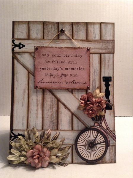 Karten - Cards What an honor. All of the semi-finalists are amazing paper crafter Handmade Birthday Cards, Greeting Cards Handmade, Vintage Birthday Cards, Cute Cards, Diy Cards, Arte Pallet, Bicycle Cards, Flower Cards, Creative Cards