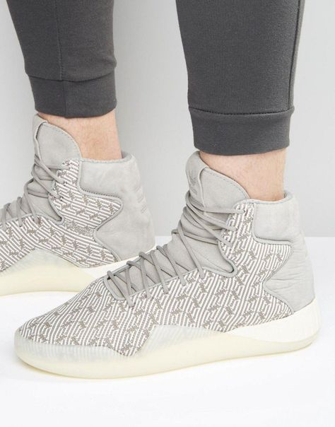 Adidas originals hightop sneaker tubular primeknit instinct