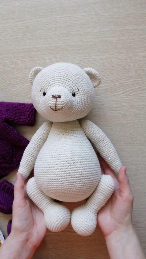 PATTERN Crochet Teddy bear. PATTERN Amigurumi Teddy bear. PATTERN Teddy Bears Outfits Girls