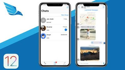iOS 12 Chat Application like WhatsApp and Viber in 2019