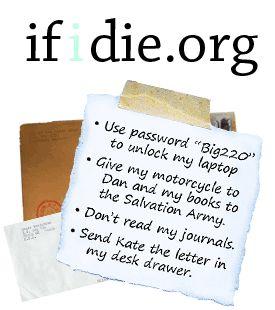 if i die.org