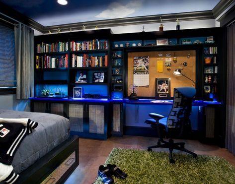 Ideas De Decoracion De Habitaciones Para Adolescentes Entre 15 Y 18 Anos 4 Diseno De Dormitorio Para Hombres Habitaciones Para Adolescentes Dormitorios