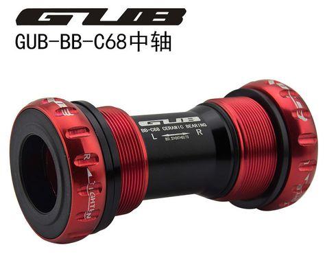BB68 Bottom Bracket 68//73mm Thread Type Crankset Bearings Bicycle Axis