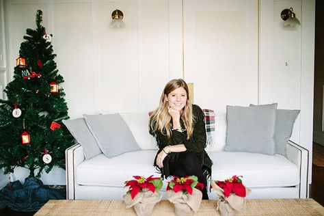 Megan O'Sullivan, Associate Editor - How Lonny Editors Decorate Their Homes For The Holidays - Photos