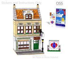 PDF Instructions Only! LEGO MOC Custom Modular Comic Store