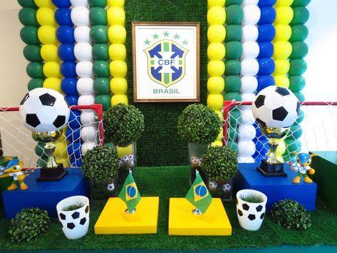 Farolita Decoracao De Festas Infantis Copa Brasil World Cup Party