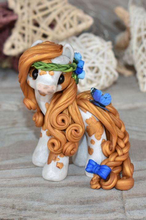 Cute Polymer Clay, Cute Clay, Polymer Clay Crafts, Diy Clay, Polymer Clay Sculptures, Polymer Clay Creations, Sculpture Clay, Clay Crafts For Kids, Clay Dragon