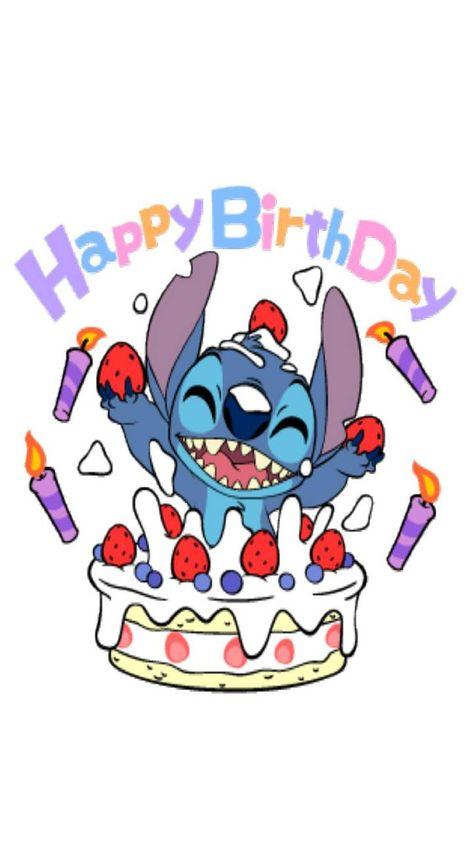 Happy Birthday Alles Gute Zum Geburtstag Lilo Und Stitch