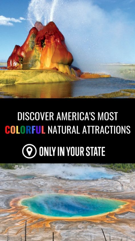 Discover America's Most Colorful Natural Attractions