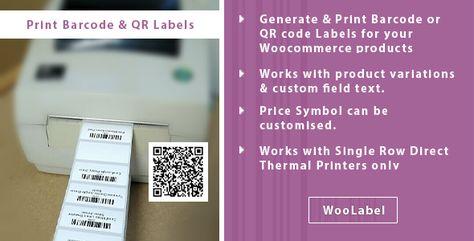 QR & Barcode Generator Label Printing – Woolabel | Codelib App