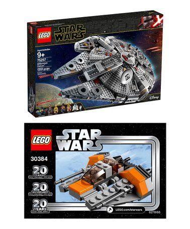 Look What I Found On Zulily Lego Star Wars 75257 Millenium Falcon Snowspeeder Set Zulilyfinds Lego Star Wars Lego Star Lego War