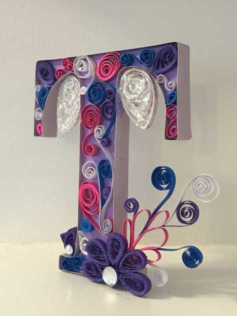 Request a custom monogram letter choose any by QuillingKimStarcher