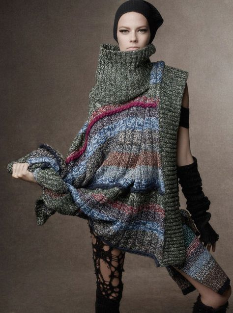 Dystopian Couture Editorials : Maja Salamon