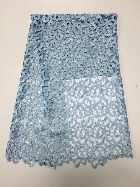 Beige Lace -21 White Lace Purple Lace White Floral Lace Fabric Chemical Lace Fabric with Floral Petal Trim Yellow Lace Blue Lace