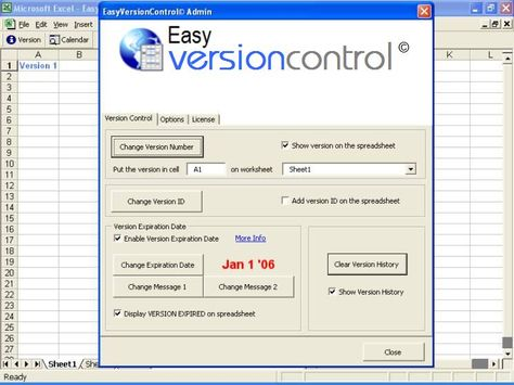EasyVersionControl Excel Version Control Template for - resume templates libreoffice