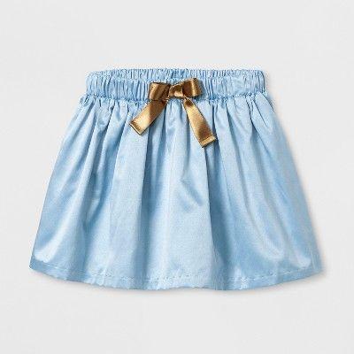 ca1cdb98850 Toddler Girls  Brocade Tented Top And Satin Skirt Set - Genuine Kids from  OshKosh Lunar Blue 18M