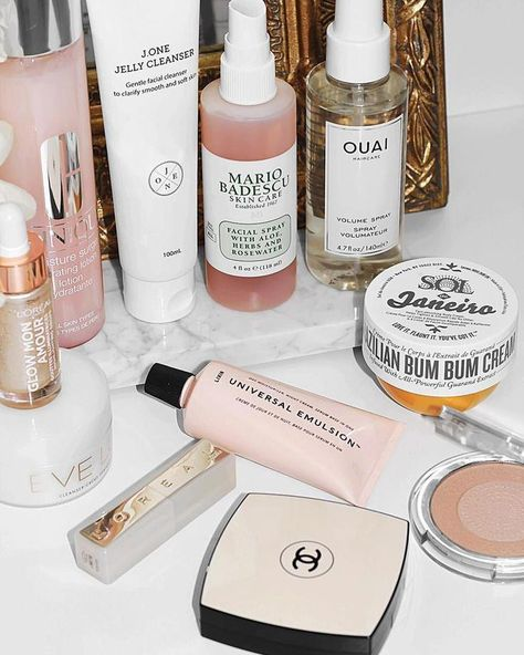 Some old and new favorites ✨ . . . . #beauty #makeup #skincare #instabeauty #beautyaddict #skincarejunkie #skincareproducts #skincareaddict… #BeautyProductsForTeens #Makeuplooks