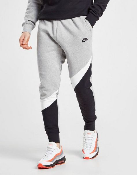 Nike Pantalon de survêtement Swoosh Colour Block Homme