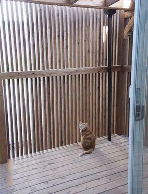 インナーテラス 猫の屋外ケージ 猫 マンション 猫小屋