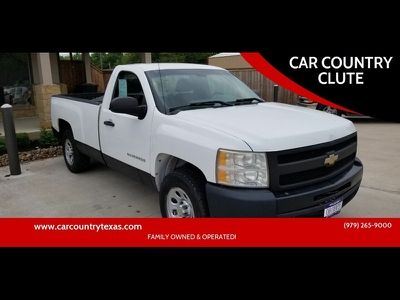 2011 Chevrolet Silverado 1500 Work Truck 4x2 2dr Regular Cab 6 5