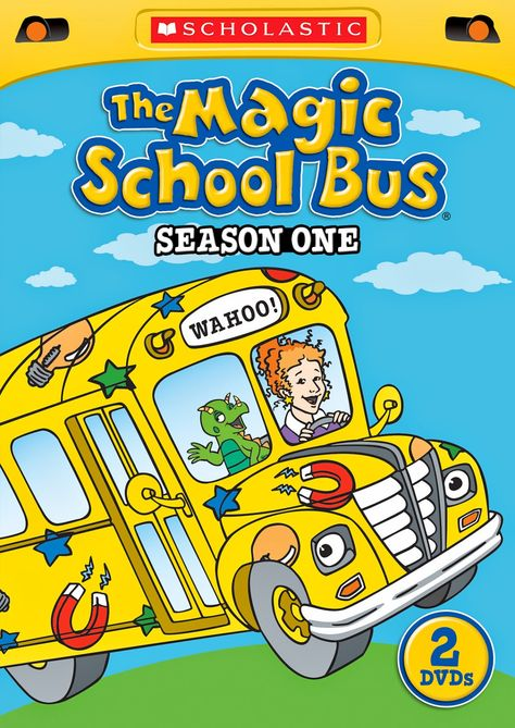 Hanging Off The Wire: The Magic School Bus: Season 2 | Blog ...