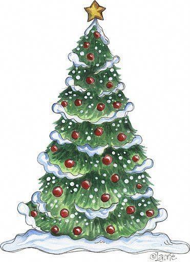 Dibujos Arboles Navidad Para Imprimir Buscabas Dibujos De Arboles De Navidad Para Imprim Christmas Tree Drawing Christmas Tree Clipart Christmas Illustration