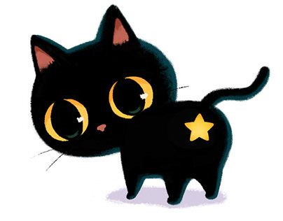Check Out New Work On My Behance Profile Black Cat Emoji Happy My Ash Http Be Net Gallery 87267765 Black Cat Emoji Emoji Set Cat Emoji Cat Illustration