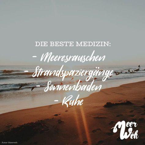Das Meer ist die beste Medizin!