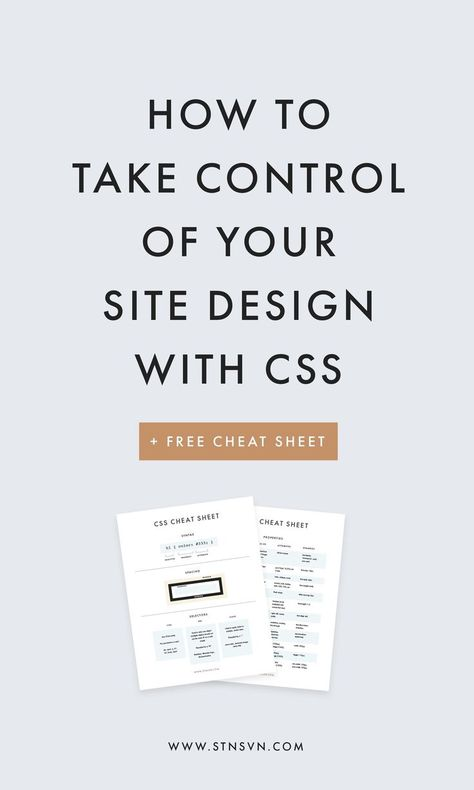 Own Your Site Design An Intro to CSS for Bloggers