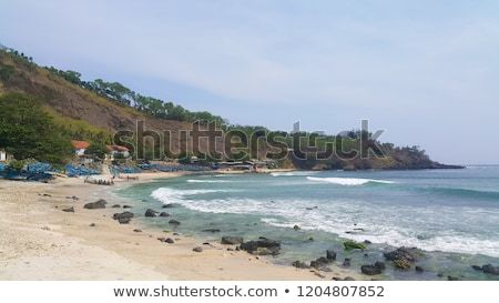 Find Rocky Beach Landscape Blue Sea Hill Stock Images In Hd Pand Millions Of Other Royalty Free Stock Photos Illustrations And Vectors In The Shutterstock Col