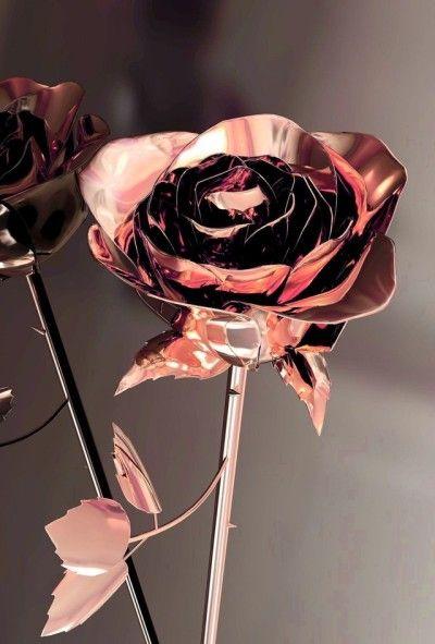 Rose Gold Tumblr Rose Gold Aesthetic Rose Gold Wallpaper