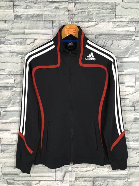fcd982d79 Adidas Vintage 90s Adidas Jacket Track Top Small Ladies Adidas Equipment  Three Stripes Sportswear Adidas Football Black Training Jacket Size S |  Grailed