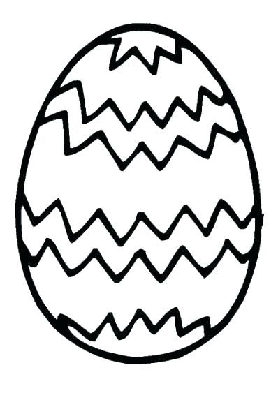 Pin On Easter Egg Coloring Template