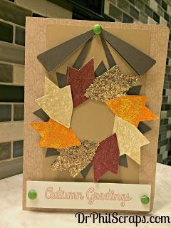 Card made with Huntington paper from CTMH - http://DrPhilScraps.com