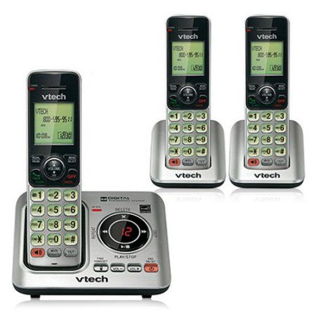 Vtech CS6429-3 Expandable Cordless Phone with 3 Additional Handsets