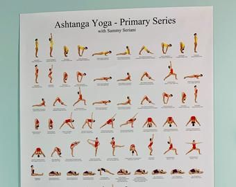 Ashtanga Yoga Poster Yoga Poster Ashtanga Poster Ashtanga Etsy In 2020 Ashtanga Yoga Ashtanga Yoga