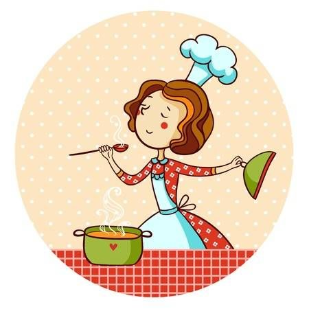 Woman Cooking Soup Housewife Cooking Dinner Cooking Soup Cooking Clipart Cooking Dinner