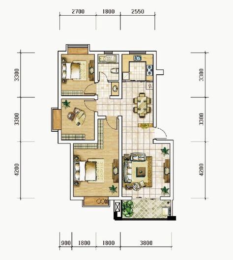 1576 Sq Ft Modern Economic Home Design Homeinner Best Home Design Magazine Modern House Design Contemporary House Plans Duplex House Design