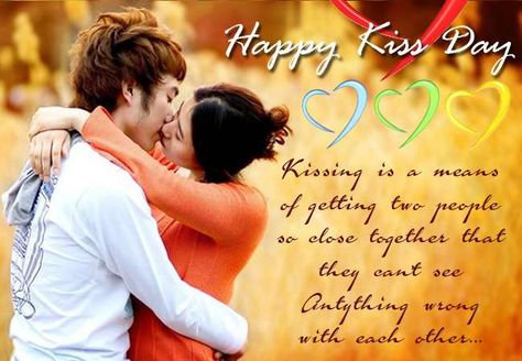 Happy kiss day!