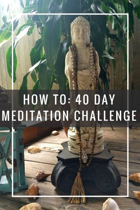 40 Day Mantra Medtiation Challenge Pin Now Meditate Later