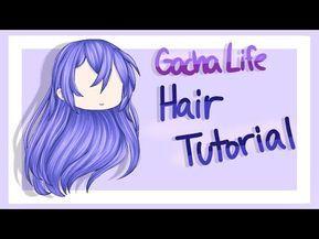 Gacha Life Hair Tutorial Ibispaint X Youtube Hair Tutorial How To Shade Tutorial